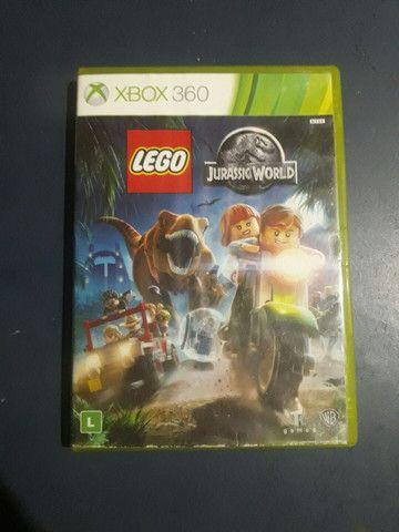 Lego Jurassic World Jogo Xbox 360 1-2 jogadores