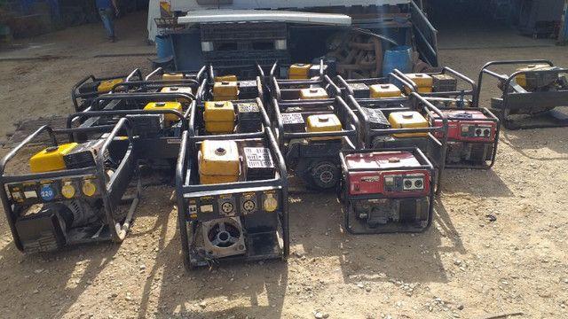 Geradores a gasolina Lote com 20 uni - Foto 6