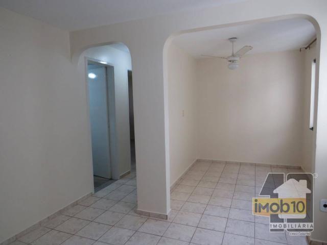 Apartamento com 2 dormitórios para alugar, 56 m² por R$ 950,00/mês - Edificio Itatiaia - F - Foto 8