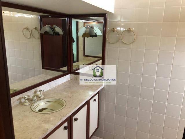 Apartamento com 4 dormitórios para alugar, 190 m² por R$ 2.700/mês - Centro - São José do  - Foto 13