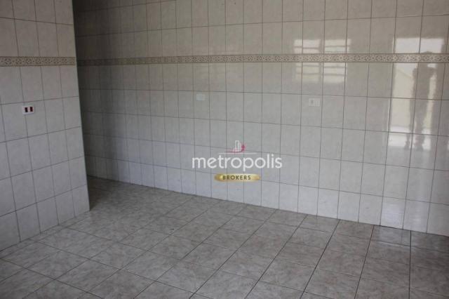 Sobrado com 4 dormitórios para alugar, 246 m² por R$ 4.000/mês - Cerâmica - São Caetano do - Foto 17