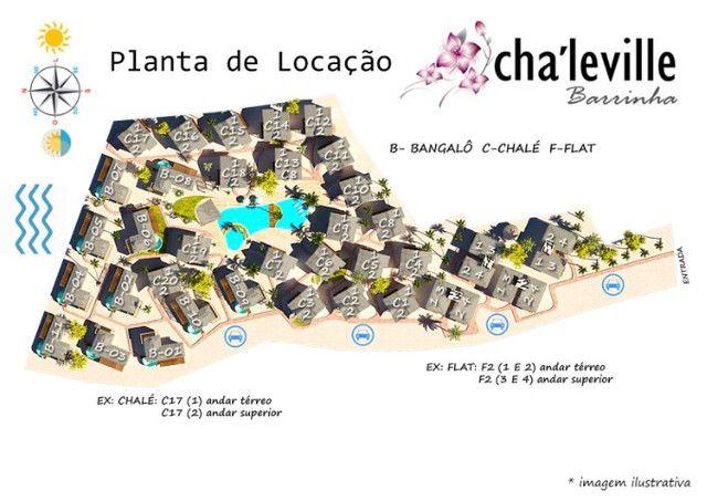 Chalé com Rooftop, 2 suítes, Praia da Barrinha - Foto 14
