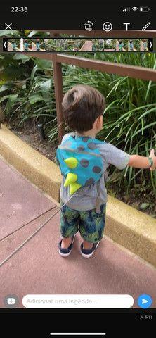 Coleira infantil dinossauro importada - Foto 5