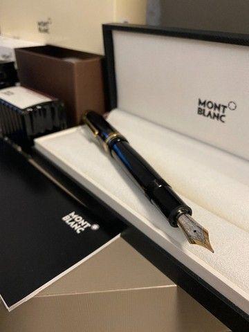 Caneta Tinteiro Mont Blanc Original Meisterstück Classique ( revestida em ouro )  - NOVA