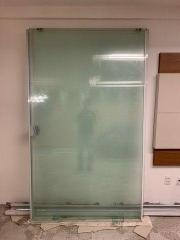 Vendo porta vidro de correr blindex 5,10x2,20 - Foto 6