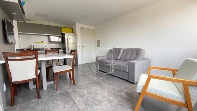 Apartamento com 1 dormitório à venda, 52 m² por R$ 350.000,00 - Praia da Cal - Torres/RS