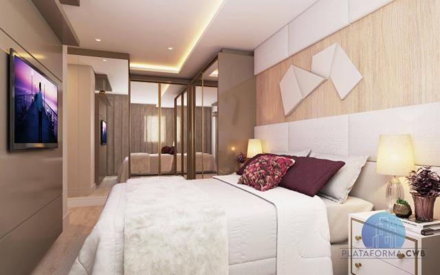 Apartamento com 2 dormitórios à venda por R$ 780.700,00 - Mercês - Curitiba/PR - Foto 4