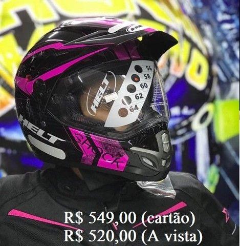 Capacete Off-Road helt e X11 a partir de R$ 520,00 JL Parts - Foto 4
