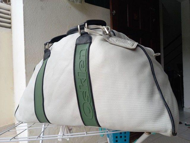 Bolsa para viagem de Couro Osklen
