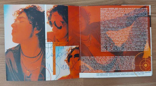 2 CDs Wilson SIDERAL - 1 DELES COM ENCARTE AUTOGRAFADO - Foto 3