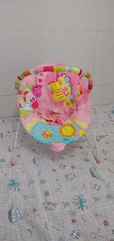 Cadeira vibratória para recém nascido. - Foto 4