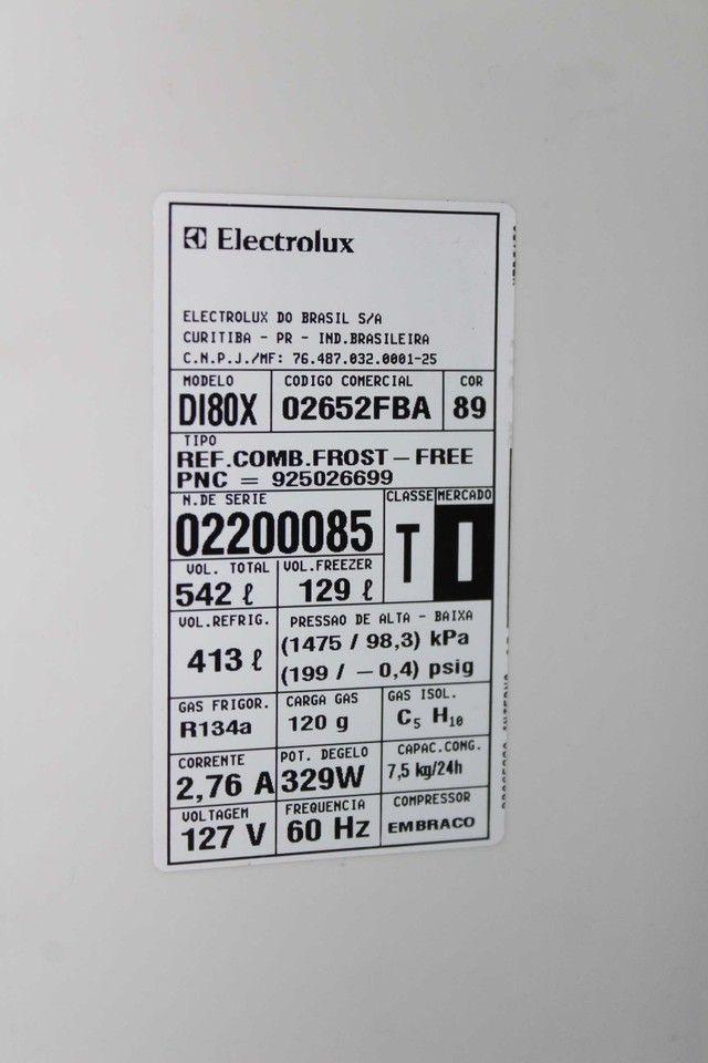 Geladeira Duplex Frost Free Infinity 542 Litros Electrolux DI80X / 127V  - Foto 3