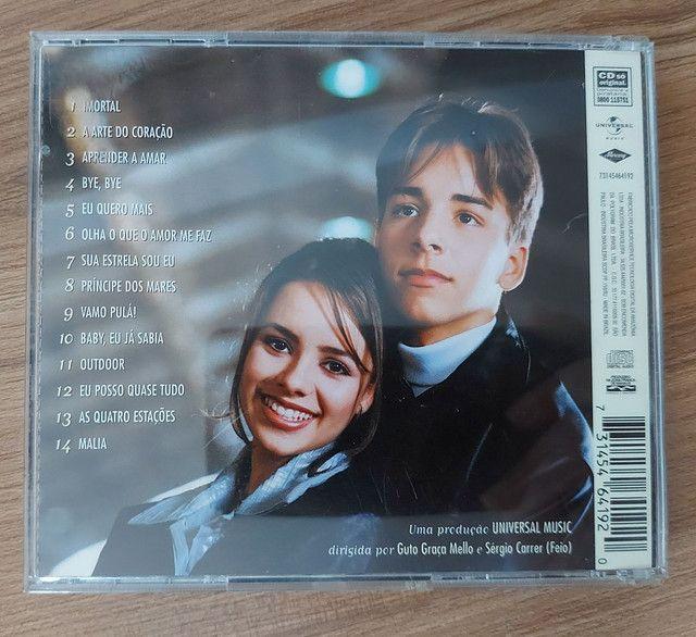 CD SANDY & JUNIOR - AS QUATRO ESTAÇÕES EM PERFEITO EATADO - Foto 2