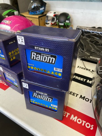Bateria para suzuki yes intruder gsr150 raiom entrega todo Rio  - Foto 2
