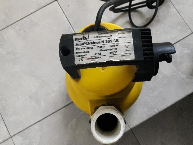 Bomba Submersível/esgotamento 1/3cv 220v Ksb Ama Drainer