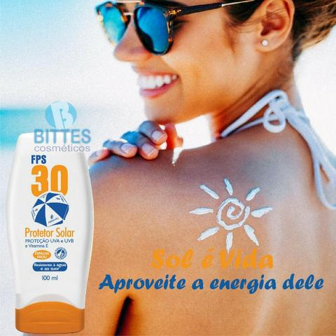 Protetor Solar Natubelly Cosméticos Fps 30 Proteção Uva - Foto 3