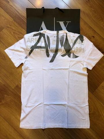 Camiseta Armani Exchange Masculina - tamanho G nova e Original - Foto 3