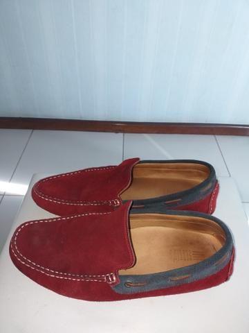 e5fd6ae304 Mocassim Sergio s vermelho semi novo n°40 - Roupas e calçados ...