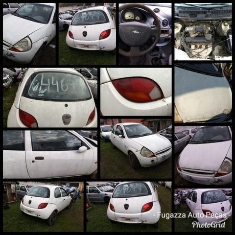 Ford Ka 1.0 Endura 1998 Sucata Em Peças e Acessorios - Foto 2