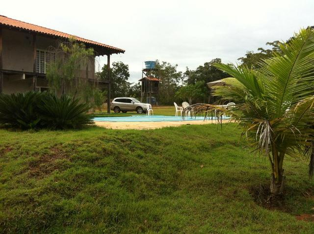 Chácara no Lago de Manso C/ Casa Beira de Rio e Piscina - Foto 3