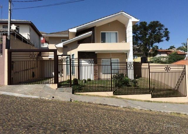 Casa à venda com 4 dormitórios em Estrela, Ponta grossa cod:016