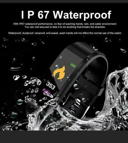 Relógio Pulseria Bluetooth inteligente - Foto 2