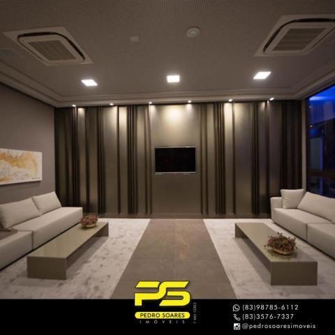 Apartamento com 2 dormitórios para alugar, 60 m² por R$ 3.500,00/mês - Tambaú - João Pesso - Foto 15