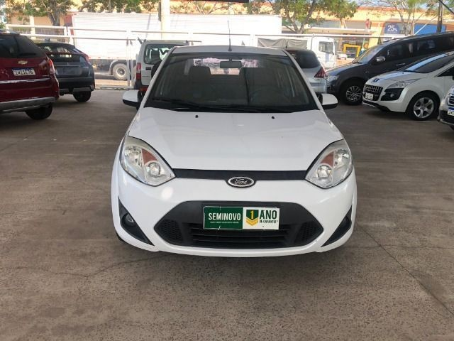 Fiesta Sedam 1.6 Completo + GNV V geração ótimo estado geral entrada R$ 3990,00 + 48 X - Foto 11