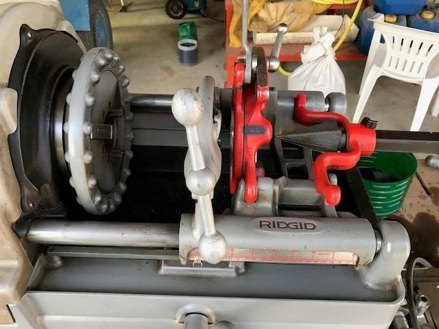 Rosqueadeira Elétrica Ridgid 535-t - Foto 4
