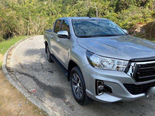 Toyota Hilux SRV Flex 2019 Aut - Foto 8