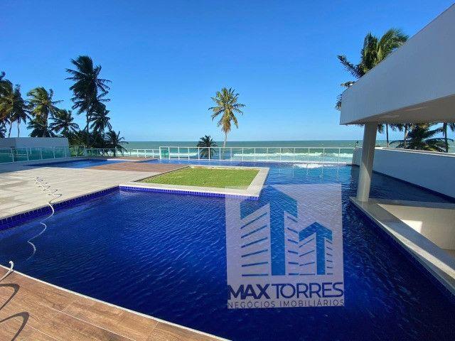 Edifício Green Village: beira mar de Guaxuma, 4 suítes, 222 m², varanda gourmet - Foto 2