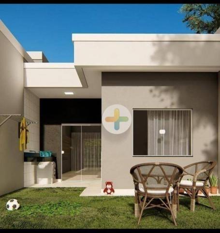 Casa com 2 dormitórios, sendo 1 suíte à venda, 62 m² por R$ 200.000 - Loteamento Comercial - Foto 3