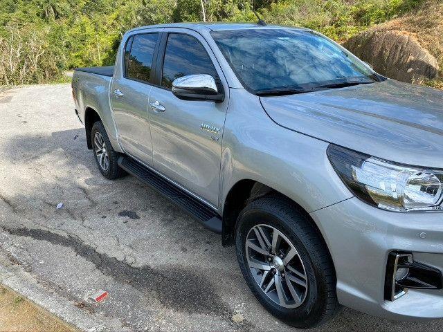 Toyota Hilux SRV Flex 2019 Aut - Foto 9