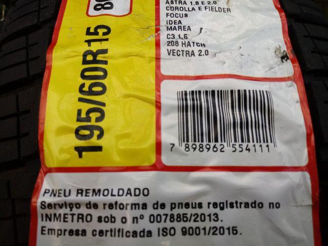 Pneus usados CAMINHÃO Kombi Passeios (inmetro e ISO9001) - Foto 2