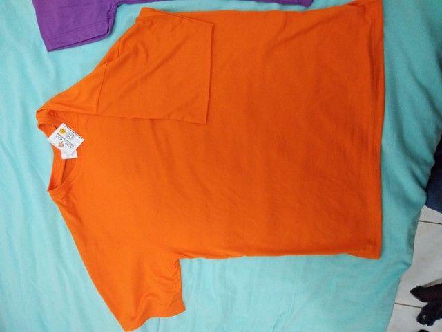 Camiseta de poliviscose