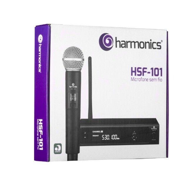 Microfone sem Fio de Mão uhf HSF-101 Harmonics - Foto 2