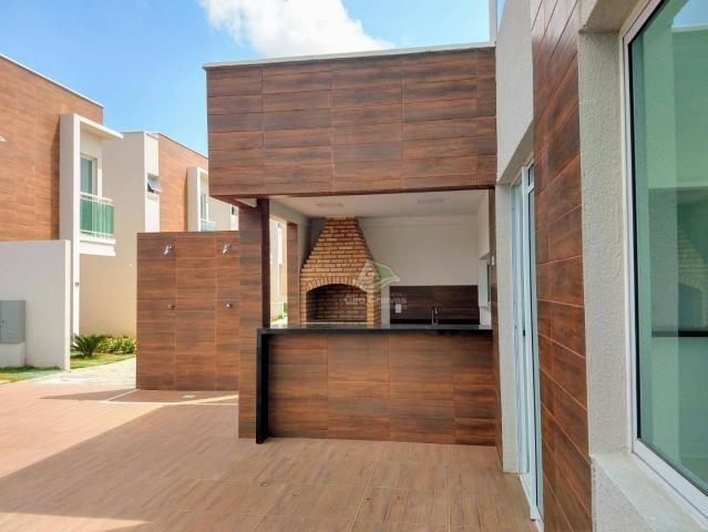 Sobrado à venda, 95 m² por R$ 350.000,00 - Mangabeira - Eusébio/CE - Foto 18