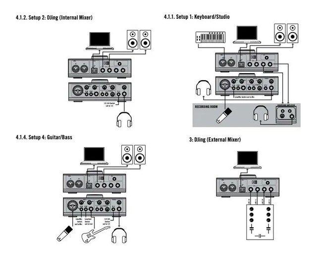 Interface de gravação Native Audio Kontrol 1 - Foto 4