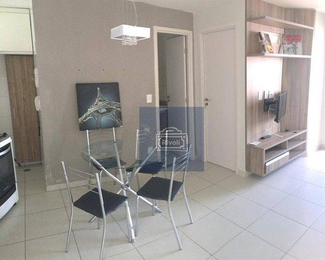 Apartamento com 1 dormitório para alugar, 35 m² por R$ 1.900/mês - Boa Viagem - Recife/PE - Foto 3