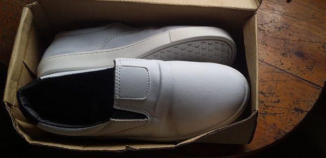 Sapato da Reserva branco. - Foto 3