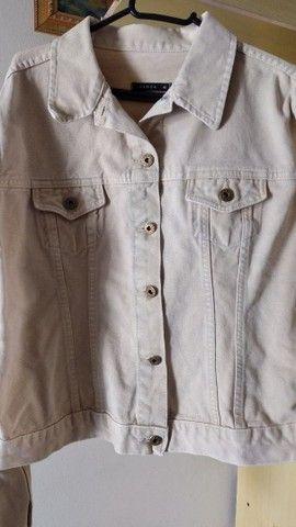 Jaqueta jeans feminina adulta  - Foto 6