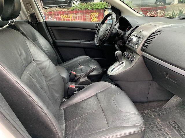Nissan Sentra 2013 S Automatico + Ipva 2021 Pago + Bc de Couro - Foto 3