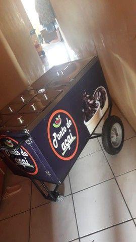 Vendo carrinho de açaí novo - Foto 3