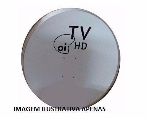Antenas banda ku 60cm com lnb simples novas na cx sem cabo e conectores