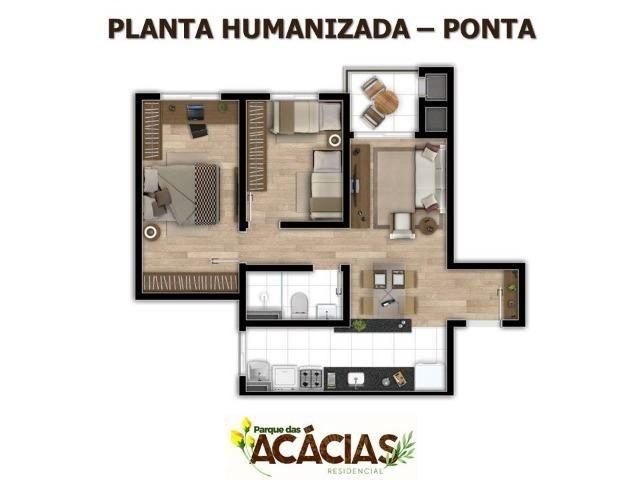 Apartamento 02 Dormitórios No Colonia Rio Grande - Foto 5