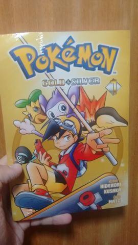 Mangá Pokémon Gold\Silver Edição 1