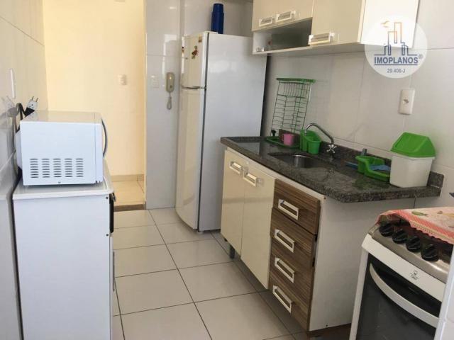 Apartamento com 2 dormitórios à venda, 76 m² por r$ 270.000 - campo da aviação - praia gra - Foto 12