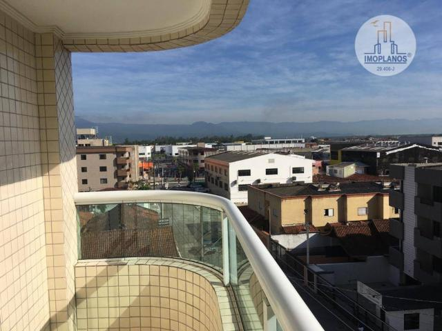Apartamento com 2 dormitórios à venda, 76 m² por r$ 270.000 - campo da aviação - praia gra - Foto 8
