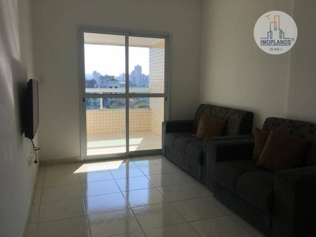 Apartamento com 2 dormitórios à venda, 76 m² por r$ 270.000 - campo da aviação - praia gra - Foto 4