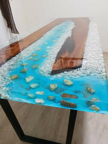 Curso online piso, paredes 3d + mesas resinadas - Foto 4